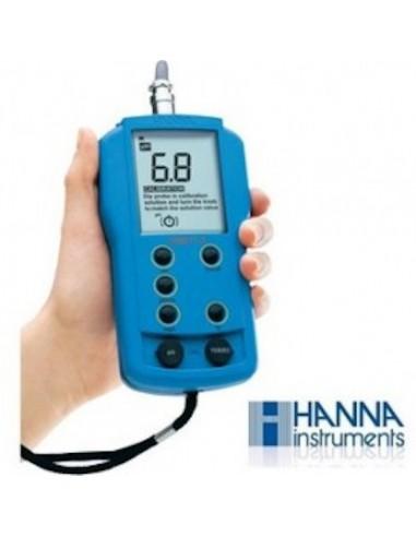 Medidor pH-EC-TDS-Tª Hanna (HI 9811-5)