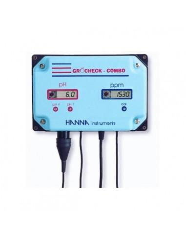 Medidor pH - EC Combo Grocheck Hanna...