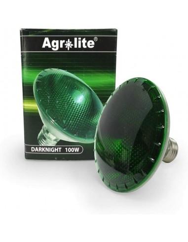 Dark Night Bombilla Verde Agrolite