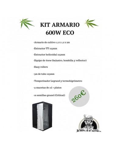 Kit Armario 600w ECO