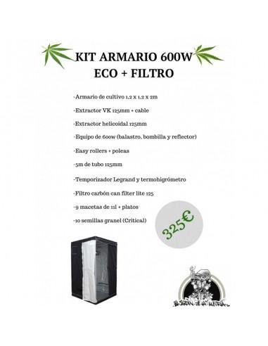 Kit Armario 600w ECO + Filtro