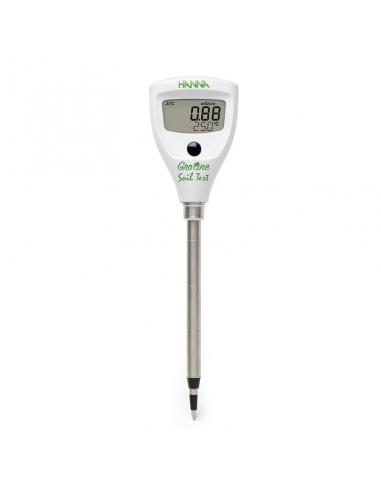 Medidor EC / Tª para suelos y...